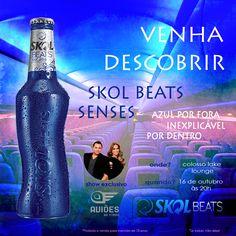 363044- peça para divulgar evento de lançamento da skol beats
