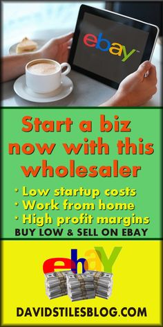 START A BUSINESS SELLING ON EBAY WITH THIS WHOLESALE SELLER. From: DavidStilesBlog.com