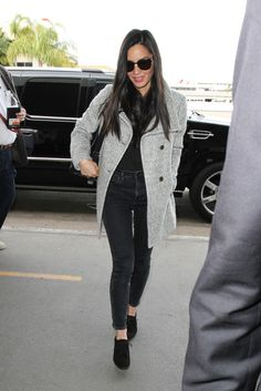 Olivia Munn Is Seen at LAX