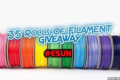 Get your hands on some Esun Filament