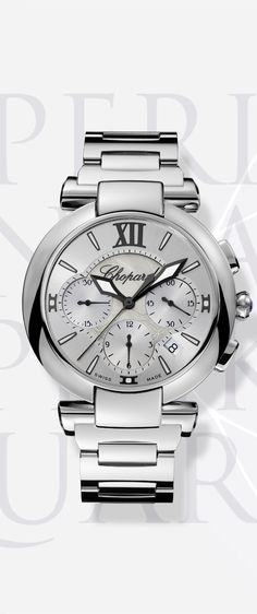 The IMPERIALE chronograph watch, combining ethereal majesty and refined style @Chopard Official
