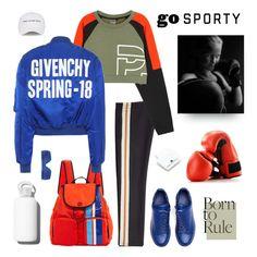 """Go Sporty"" by shoptillyadrop ❤ liked on Polyvore featuring Étoile Isabel Marant, P.E Nation, Tory Sport, Y's by Yohji Yamamoto, Natasha Zinko, Givenchy, bkr and adidas"