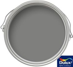 Find Farrow & Ball Estate Dix Blue - Matt Emulsion Paint - at Homebase. Visit your local store for the widest range of paint & decorating products. Green Bathroom Paint, Plum Paint, Light Grey Paint Colors, Paint Colours, Hallway Colours, Wall Colors, Farrow Ball, Dulux Green, Arquitetura