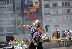 Your goverment has failed  When your grandma starts to  riot