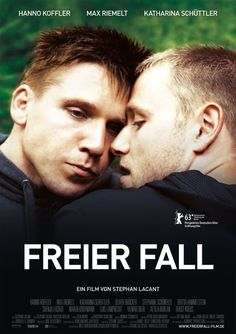 """Max Riemelt (born January 1984 in East Berlin) & Hanno Koffler (born March 1980 in Berlin) star in the German film """"Freier Fall"""" : . Movies 2019, Top Movies, Great Movies, Movies To Watch, Movies And Tv Shows, Movies Free, Film Watch, Model Box, Max Riemelt"""