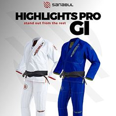 Sanabul Highlights Pro BJJ Gi (Kimono)     The Sanabul Highlights Pro is the perfect gi for competition. Its light enough that you won't have to worry about cutting extra weight but strong enough that...