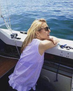 Segelsaison 2016 ist eröffnet⛵️❤️ #classy #sailing #blonde #bodensee