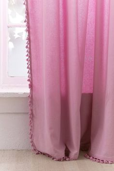 Slide View: 3: Palma Fringe Light Blocking Window Curtain