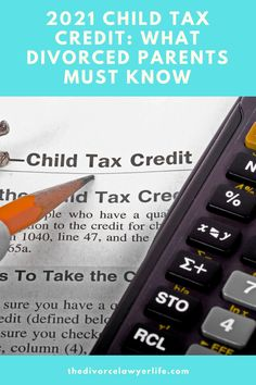 Recent changes to the 2021 child tax credit have created unique challenges for divorced parents, who both maybe entitled to claim their children as dependents. Learn how this may affect you and what you can do about it. #divorcedparents #divorce #divorceadvice #taxes #childtaxcredit #childsupport #taxhelp #tax #coparenting Divorce Attorney, Divorce Lawyers, Tax Help, Coparenting, Kids Sand, Divorce Process, Divorce And Kids, Child Custody, Child Support