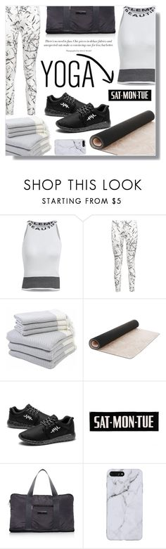 """#yoga"" by fashion-pol ❤ liked on Polyvore featuring Hamam, Laura Ashley, adidas and yoga"