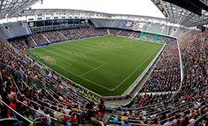 Jede Menge Zuschauer in der Red Bull Arena Salzburg. Salzburg, Red Bull, Austria, Soccer, Nice, Nice Asses, Hs Football, Futbol, European Soccer