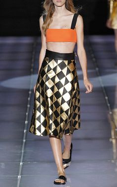 Milan Edition  Trunkshow Fausto Puglisi Look 18 on Moda Operandi