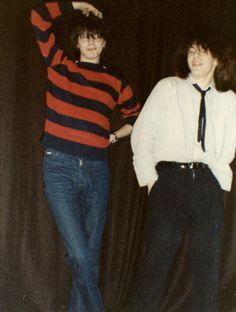 Really young John Taylor and Nick Rhodes. Like, 15 yrs old, young. (nicks hair?!?!)