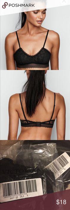 66d646a63feb2 VS Scoop Bralette Sexy lace bralette with scoop neckline