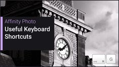 Useful Keyboard Shortcuts (Affinity Photo) Photoshop Pics, Photoshop Brushes, Photoshop Photography, Photoshop Tutorial, Photoshop Actions, Natural Brushes, Affinity Photo, Keyboard Shortcuts, Photo Processing