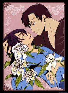 xxxHolic ~~ Doumeki looks terribly worried by the vines entwining Watanuki that are keeping him unconscious.