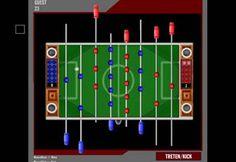 Futbolín Es un juego de mesa basado en el fútbol.