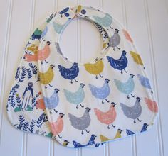 SWEET NATURALS/Organic Line/Baby Bib/Infant18 by SweetbugStudio