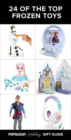 24 Frozen Toys to Carry Your Elsa- and Anna-Lovers Away to Arendelle .