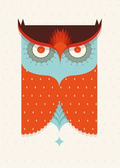 Imposters | owl poster