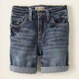 five-pocket denim shorts