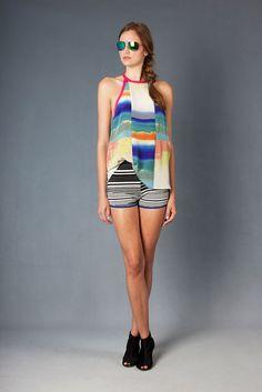 Nicole Miller Resort 2013 Fashion Show