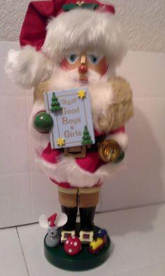 """Steinbach Nutcracker """"1930's Santa"""" Variation S891"""