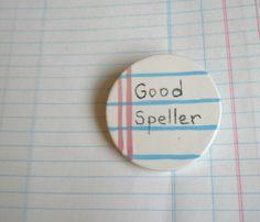 Good Speller Ceramic Brooch - Sikiu Miller-Perez