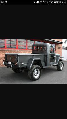 Old Jeep, Jeep Tj, Jeep Truck, Jeep Pickup, Pickup Trucks, Cool Trucks, Big Trucks, Willis Pickup, Willys Wagon