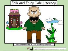 The fairy tale of Brothers Grimm, Hansel and Gretel, and the Folktale of Jack and the Beanstalk come alive with cooperative learning groups, game or ELA center participation.  Learners answer questions about the two familiar stories; Hansel and Gretel, and Jack and the Beanstalk.