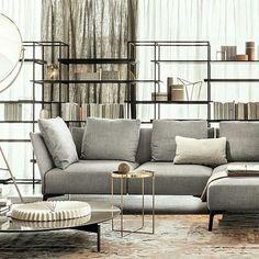 Give your living room an  elegant look with sofa Jermyn by #lemamobili  #livinginspiration #jermynsofa #designbest #livinginspo