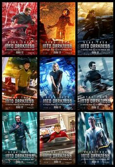 Oh man so many good characters in Star Trek Into Darkness!