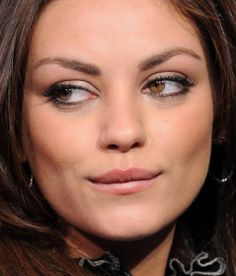 celebrities with unusual eyes famous eyes mila kunis mila kunis eyes eyes. Black Bedroom Furniture Sets. Home Design Ideas