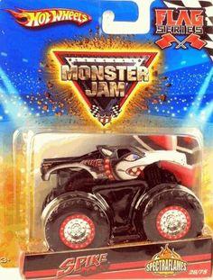 Chrome Grave Digger Hot Wheels Monster Jam Truck By Mattel