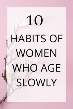 Women who age slowly have different lifestyle habits. Studies show that lifestyle plays a bigger factor in how fast we age than genetics. Anti Aging Tips, Best Anti Aging, Anti Aging Skin Care, Beauty Secrets, Beauty Hacks, Beauty Products, Lush Products, Beauty Advice, Beauty Care