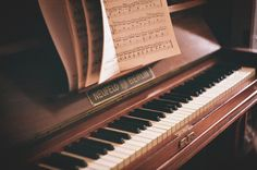 Um piano em casa...