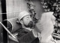 Henri de Toulouse Lautrec, photo by Alfred Natanson