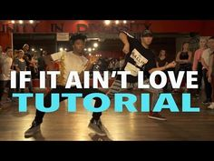 """IF IT AIN'T LOVE"" - Jason Derulo DANCE TUTORIAL 