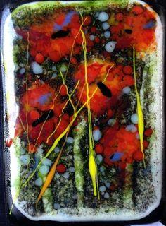 "Daily Paintworks - ""Poppy Forest"" - Original Fine Art for Sale - © Kristen Dukat"