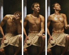Tom Hiddleston shirtless = my ovaries exploding<<<<< that comment lololol