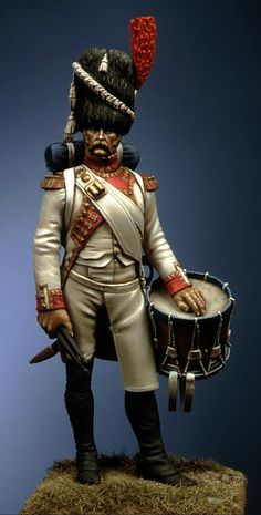 Drummer of Dutch grenadier of the Imperial guard, D.Ipperti