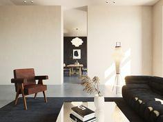 Contemporary eclectic interior design