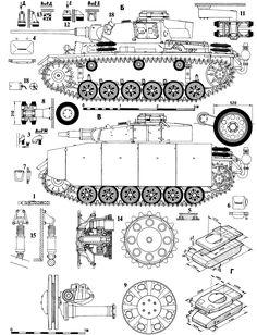 Panzer III blueprint