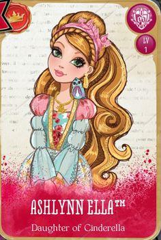 Ever after high Ashlynn Ella - daughter of cinderella