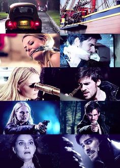 once upon a time, emma swan, and captain hook