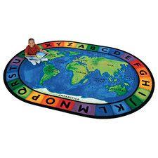 Kids Educational Rugs - Type: Kid's Rugs, Theme: Educational   Wayfair
