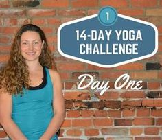 Started this today! 14-Day Yoga Challenge with Fiji McAlpine | DoYogaWithMe.com