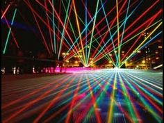 From ray-gun to Blu-ray Piano Music, Dance Music, Immersive Experience, Luz Led, Bilbao, Light Art, Retro, Holographic, Northern Lights