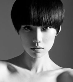 Tao Okamoto: The short hair ::  not for everyone, but really cute if you've got the confidence to rock it.