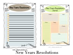 Resolution New Year Printable Day Planner Template Art Journal Insert Lists your New Year Resolutions, Illustrated Printables Lists, Goals and Planning the Year Ahead with Intentions Style Alphabet, Lettering Styles Alphabet, Typography Alphabet, Day Planner Template, Printable Planner, Printable Art, Printables, Free Printable Alphabet Letters, Creative Typography